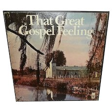 Vintage 6LP Box That Great Gospel Feeling (Capitol SLFR 8089)  1977