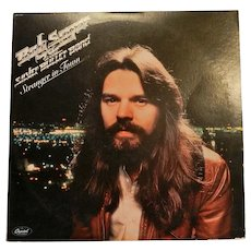 Vintage Bob Seger & The Silver Bullet Band Stranger in Town LP SW-11698 Capitol Records Vinyl Record Album  1978