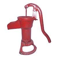 Antique William Davey Pump Corporation Rockford Illinois Pitcher Pump