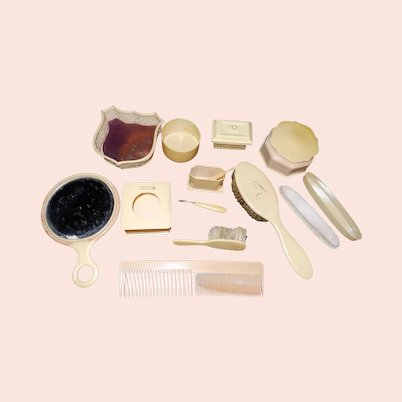 Vintage Celluloid Vanity items
