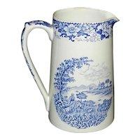 Vintage Hanley England Silverdale Porcelain Milk Pitcher