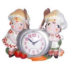 Vintage 1991 Burwood Campbells Soup Kids Clock