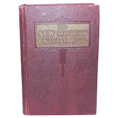 The New Modern Encyclopedia: A Library of World Knowledge 1947