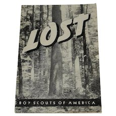 Vintage 1940's Lost Pamphlet from The Boy Scouts of America