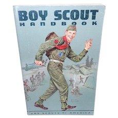 Vintage Boy Scout Handbook from 1962