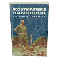 Vintage Scoutmaster's Handbook for the Boy Scouts of America
