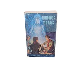 Vintage Handbook for Boys from the Boy Scouts of America Paperback 5th Edition 1950