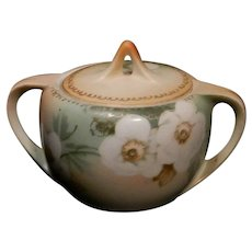 Vintage R S Prussia Tillowitz Silesia Covered Sugar Bowl