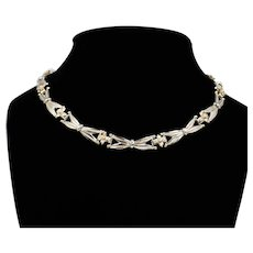 Mexican Sterling Choker; Jose Luis Flores for Miguel Garcia Martinez