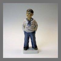 Dahl Jensen porcelain figure of a Sailor type boy