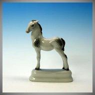 Vintage Rosenthal porcelain FOAL horse figure dapple