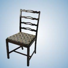 Salesman's sample dolls sized miniature chair