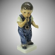 Vintage Dahl Jensen Boy with Pipe figure