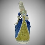 Vintage Rosenthal porcelain figure of a Lady with fan