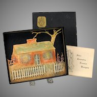 Alice Cranston Fenner CT house plaque in original box with papers 1948