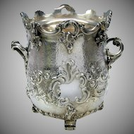 1851 Elkington silvered bronze wine or champagne cooler