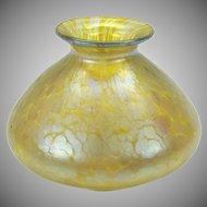 Loetz art glass cabinet vase Papillion