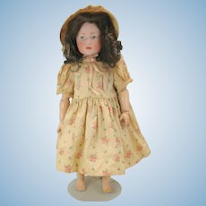 "18"" Kammer & Reinhardt 101 Marie doll blue eyes German bisque head"