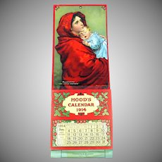 Hoods Calendar 1914 Madonnina The little Mother complete
