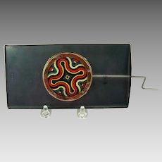 Antique mechanical magic lantern Kaleidoscope slide