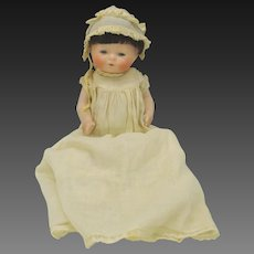 Large Horsman all bisque Tynie baby doll 1924