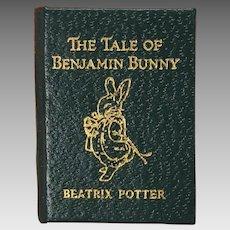 Barbara Raheb miniature dollhouse book Tale of Benjamin Bunny 1:12 scale