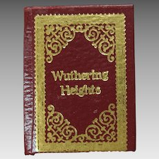 Barbara Raheb miniature dollhouse book Wuthering Heights 1:12 scale Ltd Ed