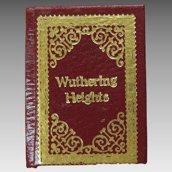 Barbara Raheb miniature dollhouse book Wuthering Heights 1:12 scale Ltd Ed