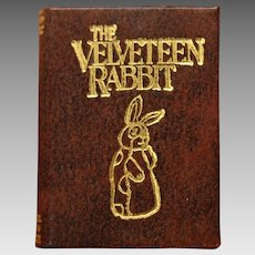 Barbara Raheb miniature dollhouse book Velveteen Rabbit 1:12 scale