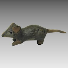 Vintage Austrian cold painted miniature bronze Mouse-tiny!
