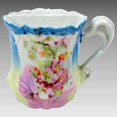 Vintage RS Prussia porcelain Art Nouveau shaving mug