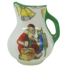 Antique Royal Doulton Santa Claus miniature jug