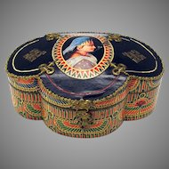 19th Century French Egyptian theme chocolate candy box