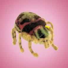 Vintage Steiff Spidy spider toy figure