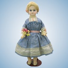 """11 1/2"""" Belton bisque head closed mouth doll"""