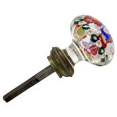 Victorian glass paperweight door knob