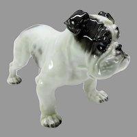 Vintage Rosenthal porcelain Old English Bulldog figure