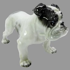Vintage Rosenthal porcelain Old English Bulldog figure