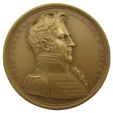 US Mint bronze Military medal 415 Brigadier General Eleazer Ripley NRFB