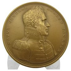 US Mint bronze Military medal 417 Major General Andrew Jackson NRFB