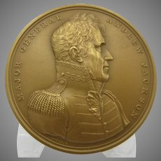 US Mint bronze Military medal 417 Major General Andrew Jackson NRFB