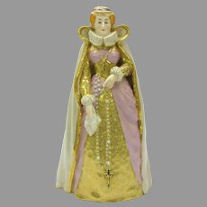 19th Century Royal Worcester porcelain Mary Queen of Scots figurine