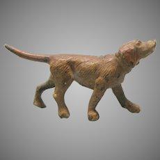 Vintage cold painted miniature Vienna bronze Hound dog