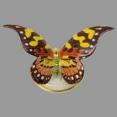Vintage Rosenthal porcelain butterfly statue or cabinet figurine
