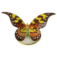 Vintage Rosenthal porcelain butterfly statue or cabinet figurine