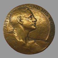 1929 Avard Fairbanks bronze medallion Faith in Man and his works National Bank of Portland