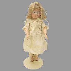 "Smallest size Kammer & Reinhardt K*R 114 bisque head closed mouth cabinet doll Gretchen 8"""