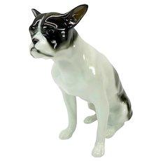 Vintage Gotha Pfeffer German porcelain Boston Terrier dog figurine