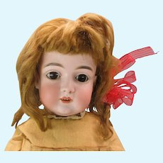 "20"" Estate Kestner alphabet series German bisque head doll J 13"