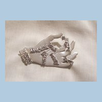 Large read your life on palm of hand Brooch Wonderful piece marked ALAN ©